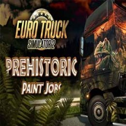 Euro Truck Simulator 2 Prehistoric Paint Jobs Pack Steam Kod Klucz