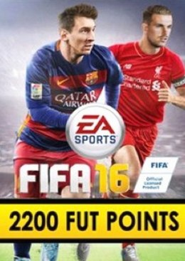 FIFA 16 2200 FUT Points Origin Kod Klucz