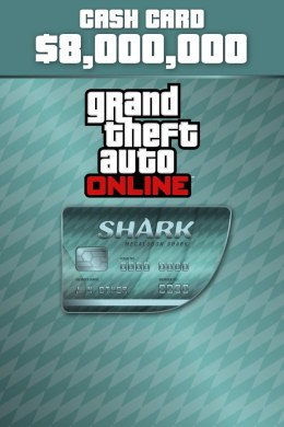 GTA V Online Megalodon Shark Cash Card PC Kod Klucz