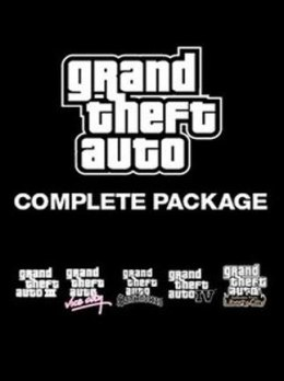 Grand Theft Auto Collection Steam Kod KLucz