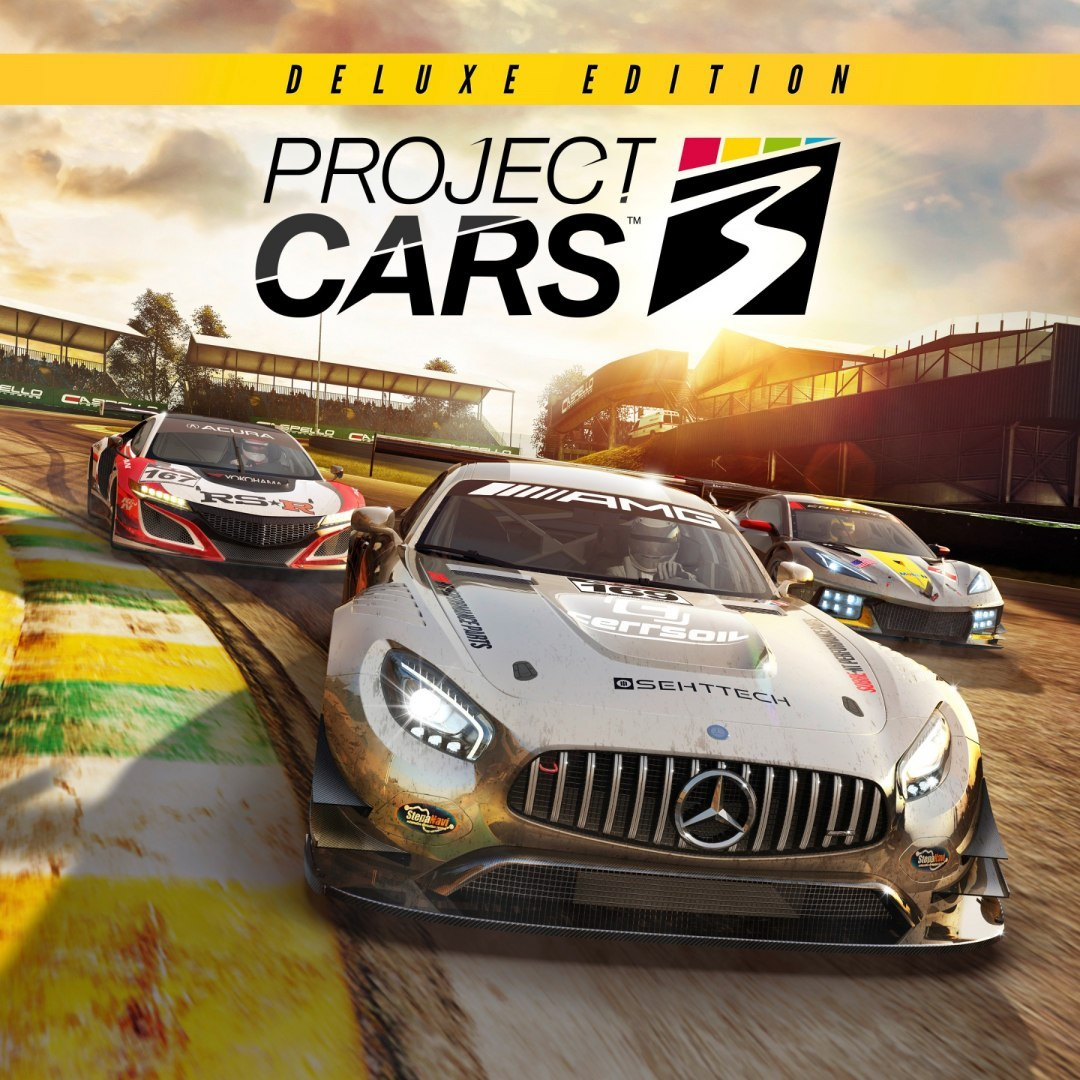 Project CARS 3 Deluxe Edition Steam Kod Klucz