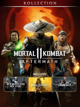 Mortal Kombat 11 Aftermath Kollection XBOX One Kod Klucz