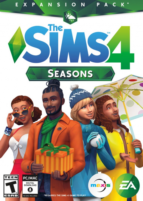 The Sims 4 Seasons DLC XBOX One KOD KLUCZ