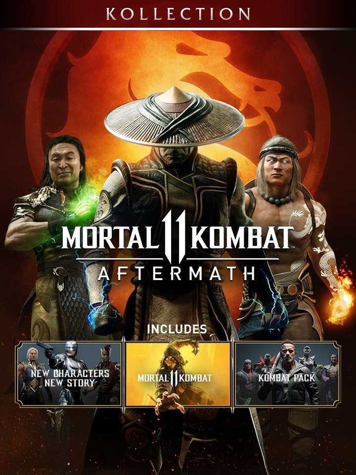 Mortal Kombat 11 Aftermath Kollection Steam KOD KLUCZ