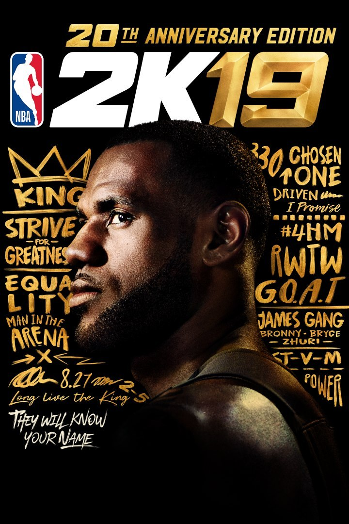 NBA 2K19 20th Anniversary Edition Steam KOD KLUCZ
