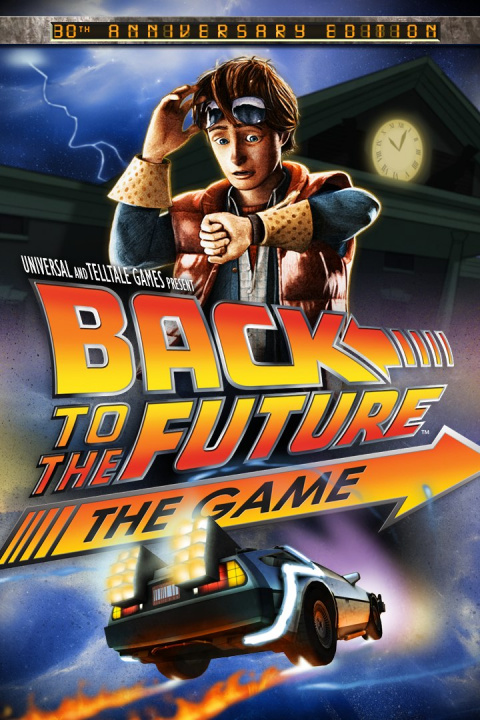 Back to the Future The Game 30th Anniversary Edition XBOX ONE KOD KLUCZ