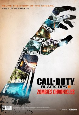 Call of Duty Black Ops III Zombies Chronicles Edition Steam KOD KLUCZ